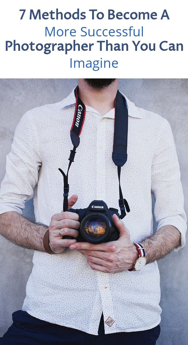 How To Become A Successful Photographer