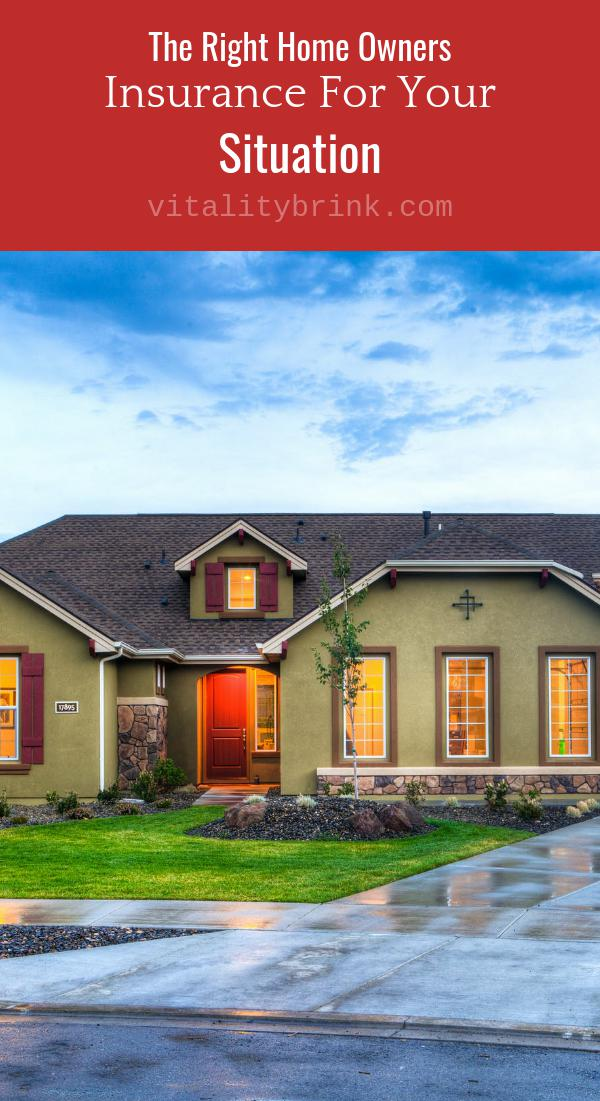 Selecting The Right Homeowners Insurance