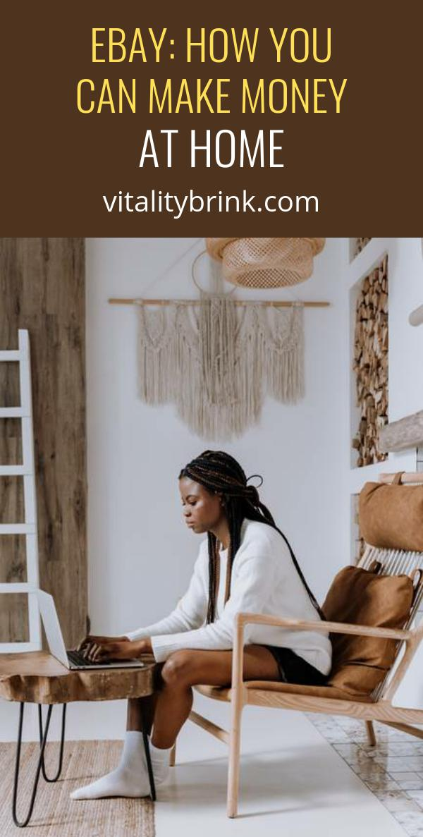 Ebay: How You Can Make Money At Home