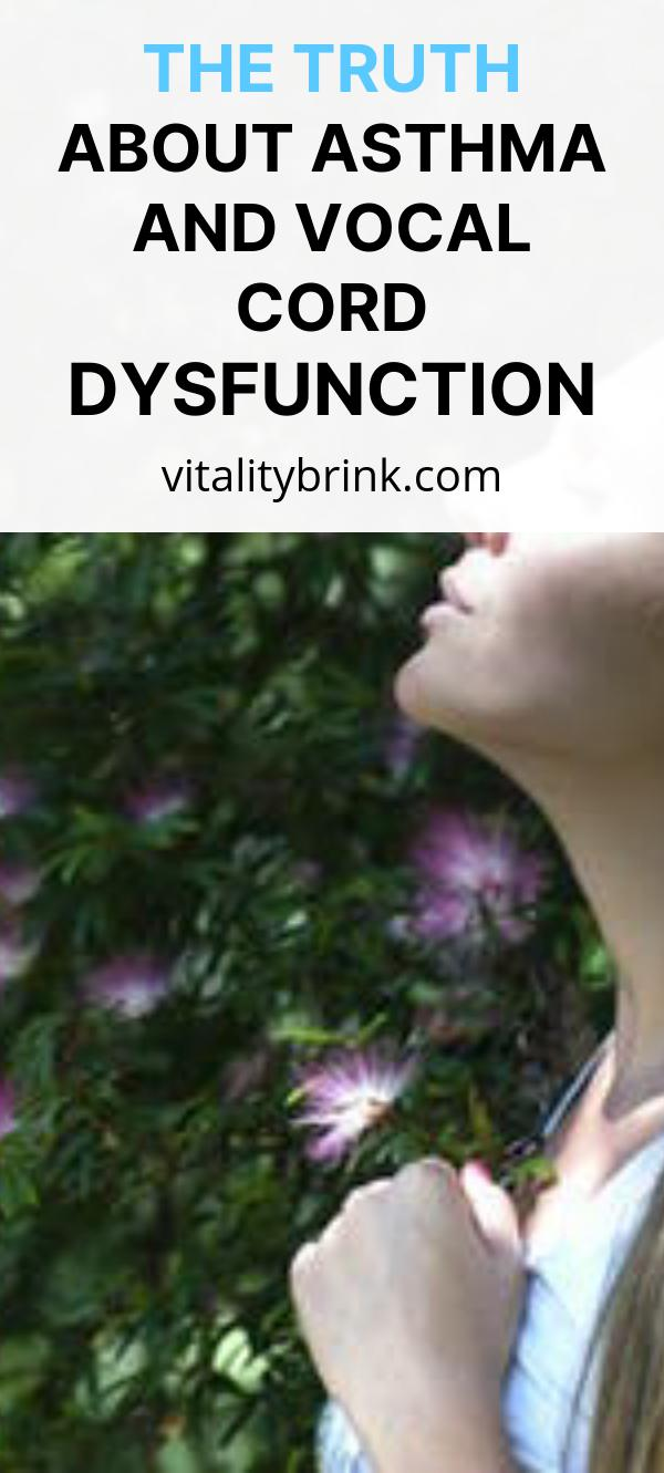 The Truth About Asthma And Vocal Cord Dsyfunction